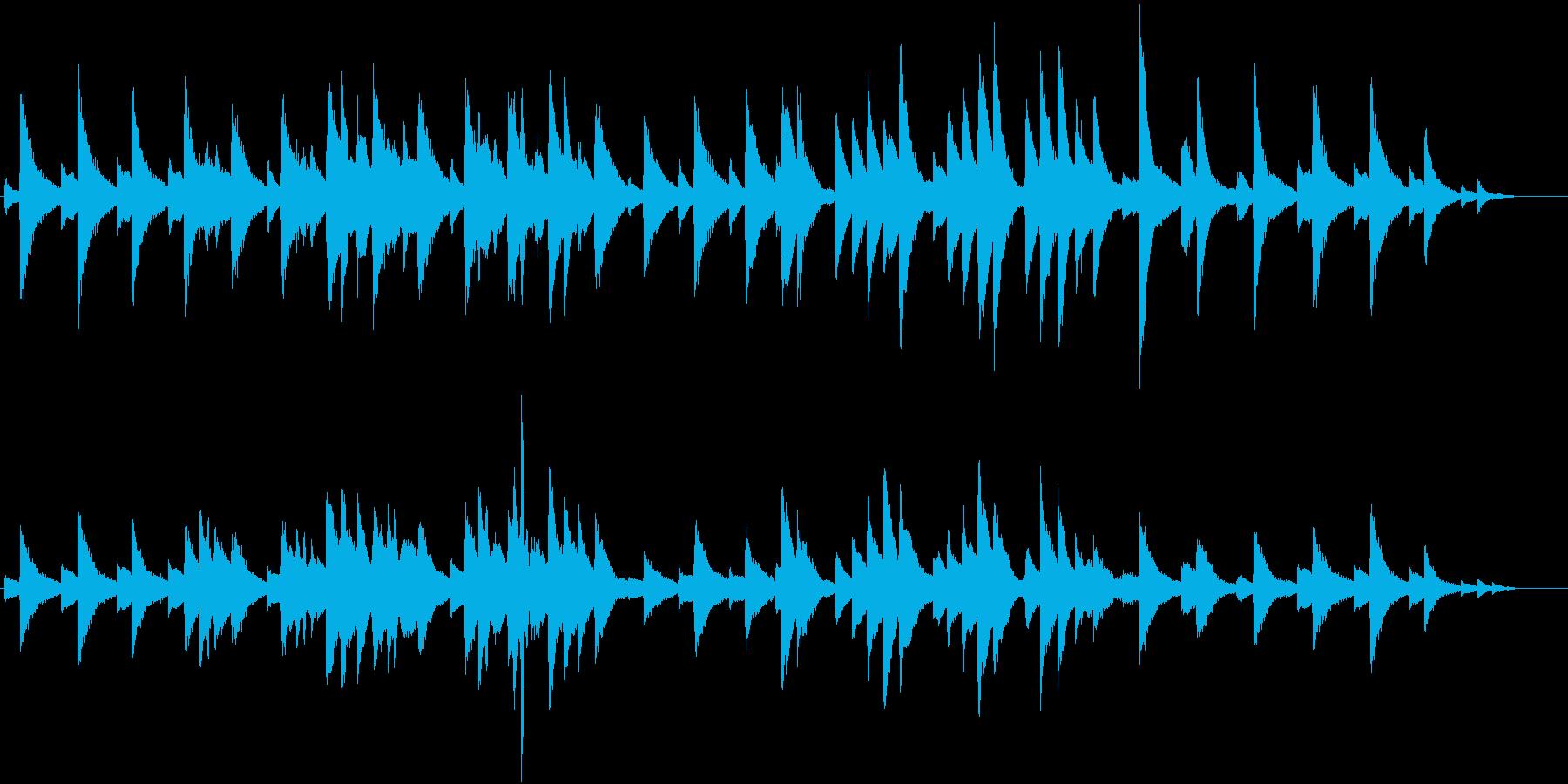 サティのジムノペディ風 切ないピアノソロの再生済みの波形