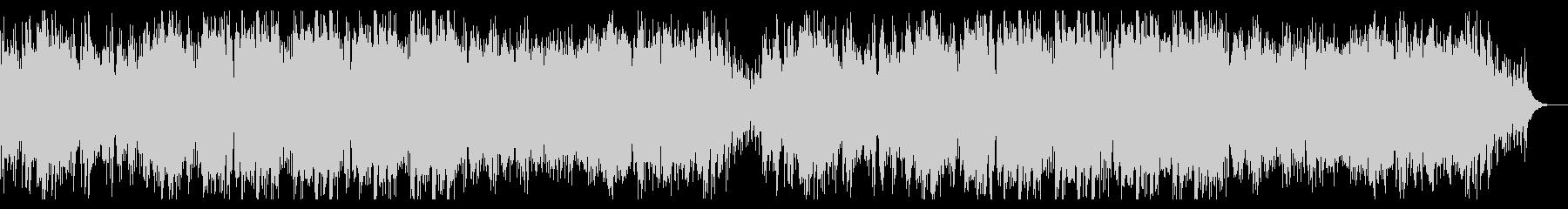ハイテンポでダークなハロウィン曲の未再生の波形