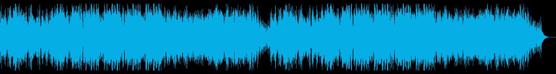 ハイテンポでダークなハロウィン曲の再生済みの波形