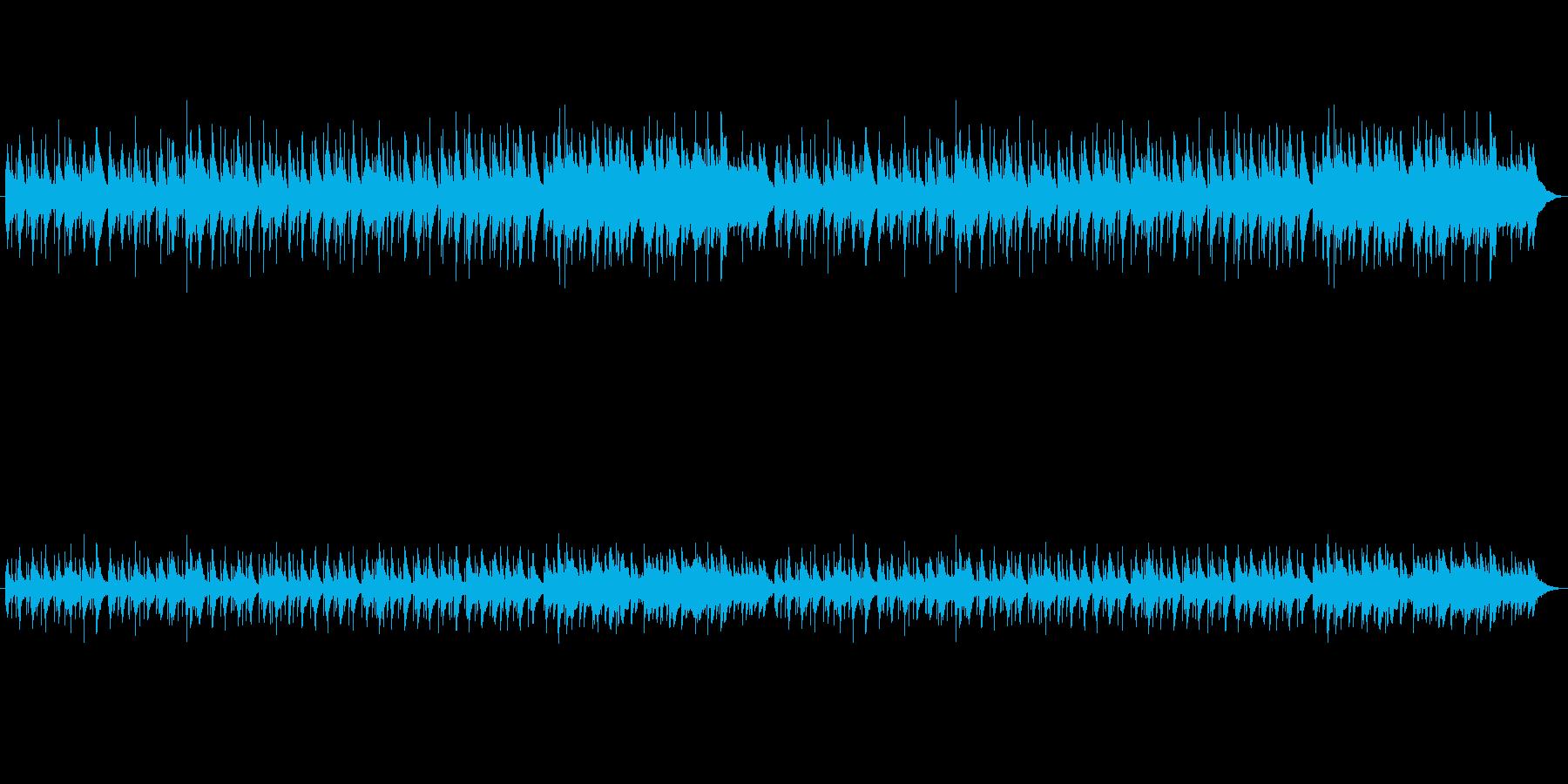 中世の切ないハープの再生済みの波形