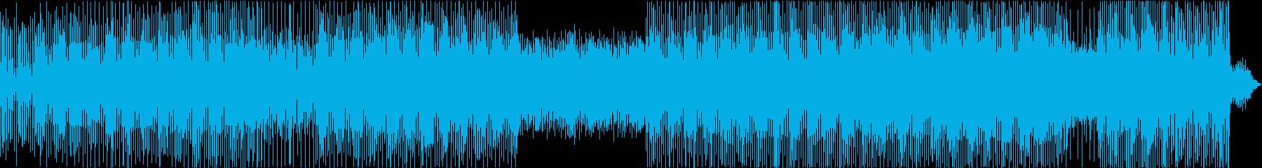 真夜中のレースを、シンセ音で表現の再生済みの波形