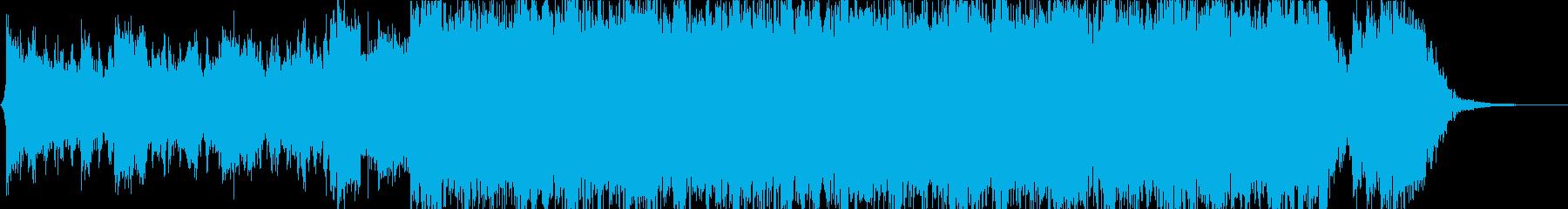 Horizon XIの再生済みの波形