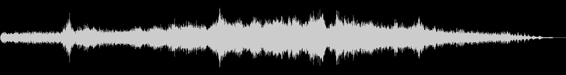 丸のこ:シングルメディアカットソーパワーの未再生の波形