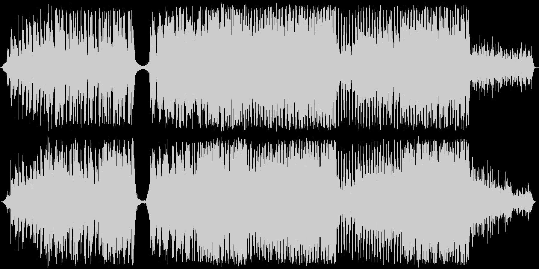 壮大なピアノメインのバラードの未再生の波形