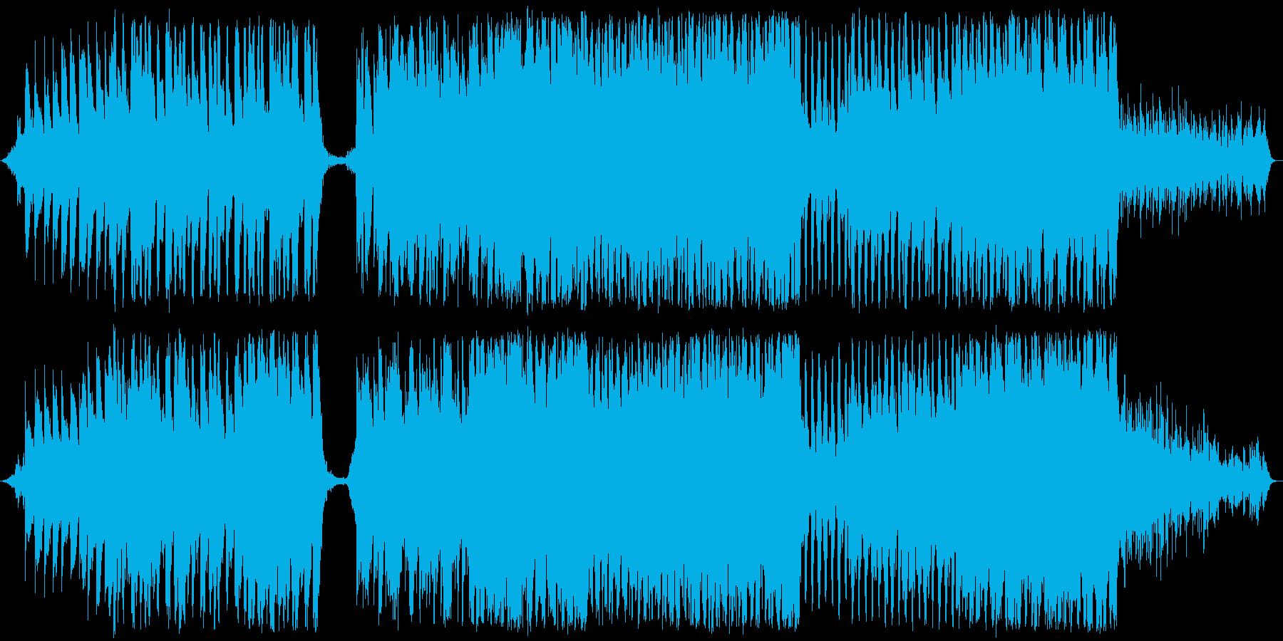 壮大なピアノメインのバラードの再生済みの波形