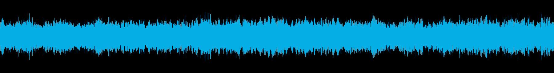 リラクゼーションの30秒ループの再生済みの波形