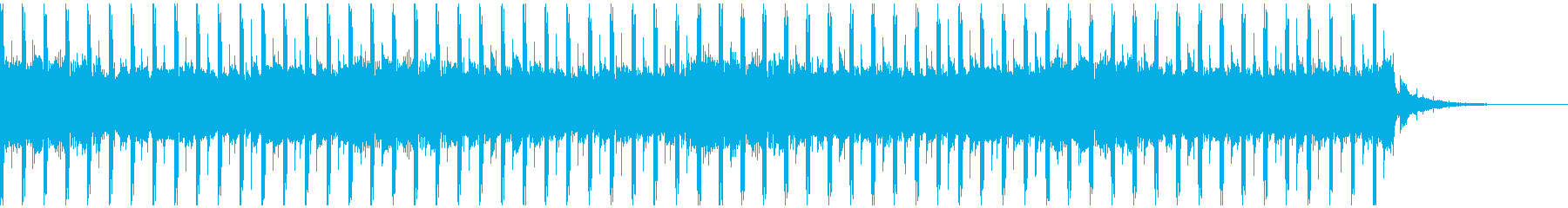 法人(ショート1)の再生済みの波形
