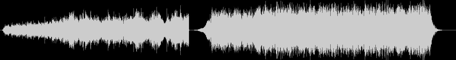 明るくどこか切ないPianoアンビエントの未再生の波形