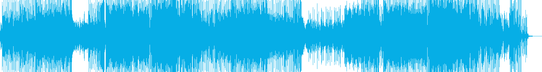 前向きに歩き出すテクノポップ 長尺の再生済みの波形