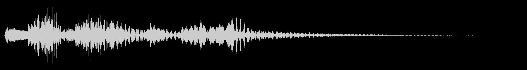 チャランタラン(楽器系)の未再生の波形