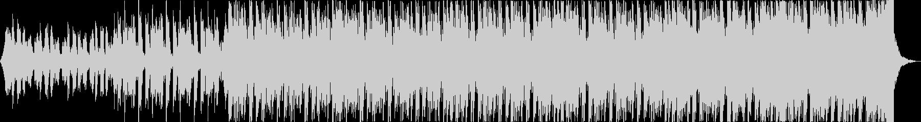 軽快清涼感クールEDMトロピカルハウスbの未再生の波形