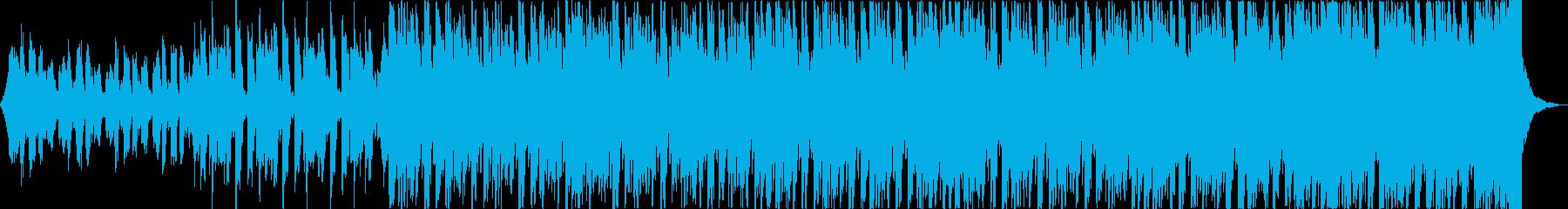 軽快清涼感クールEDMトロピカルハウスbの再生済みの波形