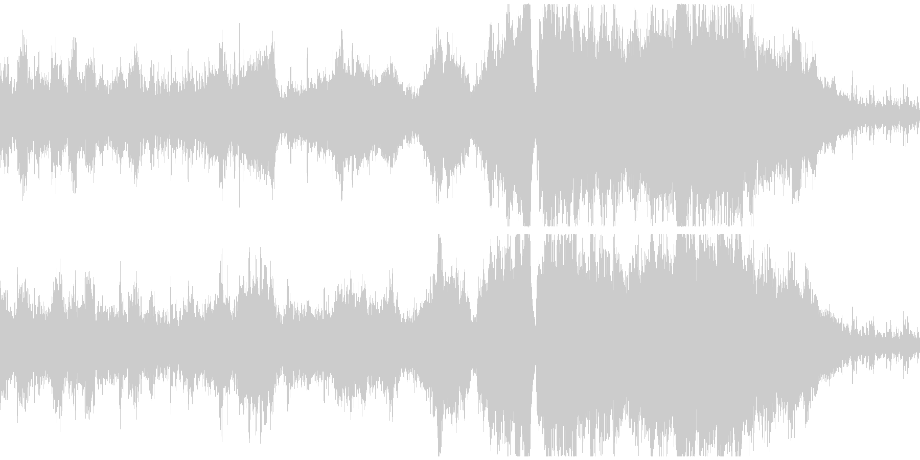 【ループ】大草原っぽい民族オーケストラの未再生の波形