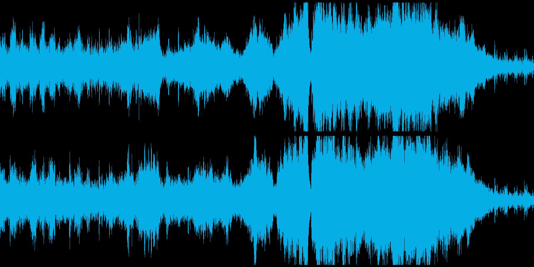 【ループ】大草原っぽい民族オーケストラの再生済みの波形