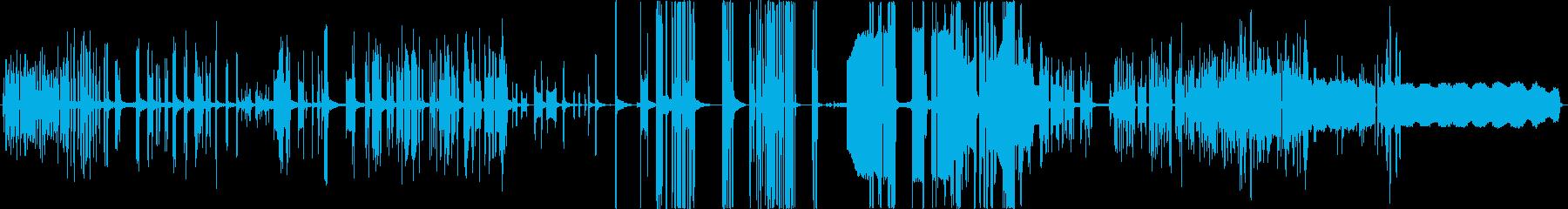 GUITAR AMPLIFIER:...の再生済みの波形