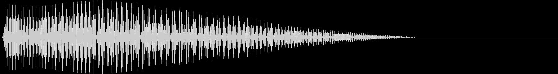 Game 横スクロール系ゲーム 効果音3の未再生の波形
