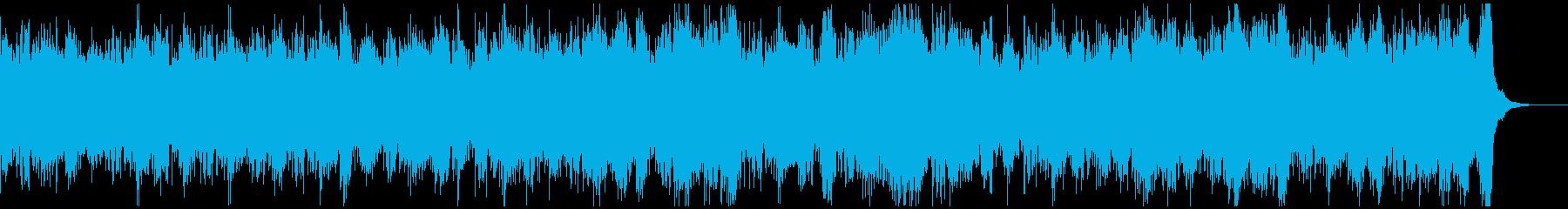 何か恐ろしいものが存在する空気感ホラーの再生済みの波形