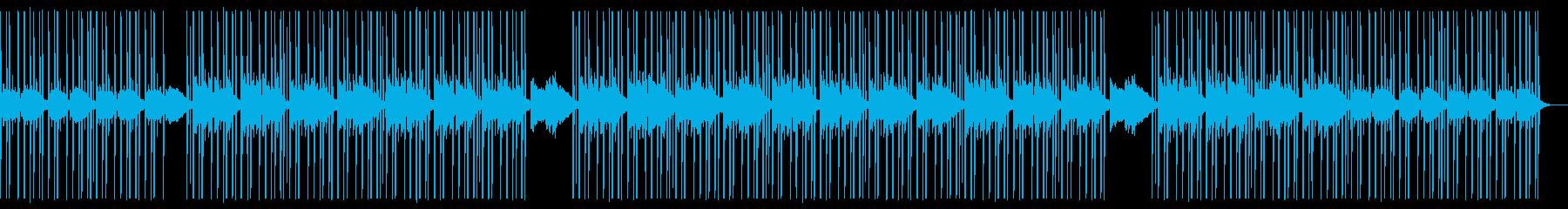 Lofi Hiphop 公園トランペットの再生済みの波形