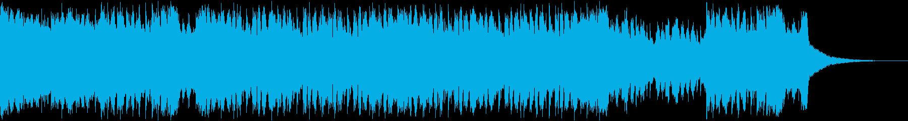 壮大/EDM/ハウス/エモい/切ないの再生済みの波形