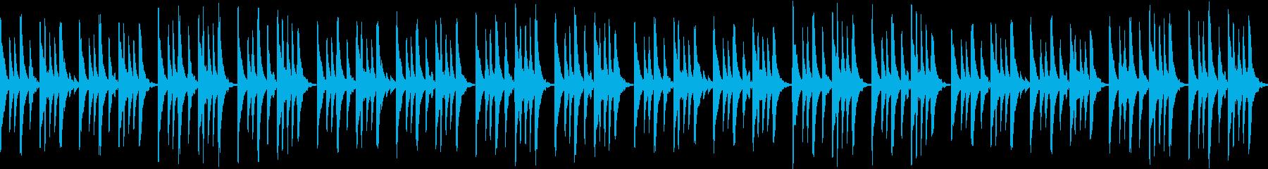 ほのぼの まったり トークBGMや映像にの再生済みの波形