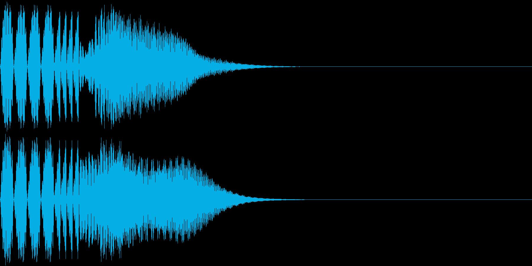 キュイン 強い 熱い 激アツ ピュインの再生済みの波形