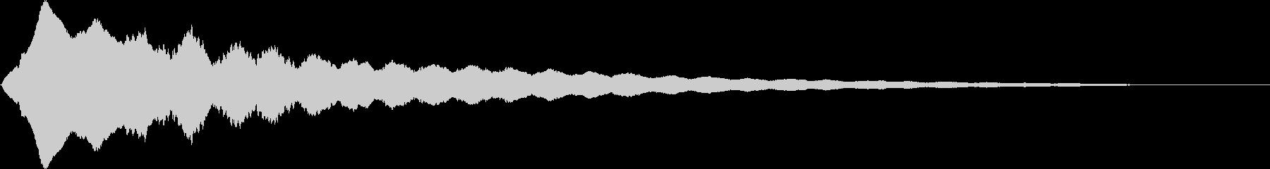 輝く/光る/キュイン/キュピン/02の未再生の波形