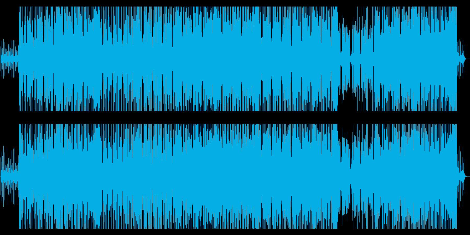 気だるい感じのピアノとギターのBGMですの再生済みの波形