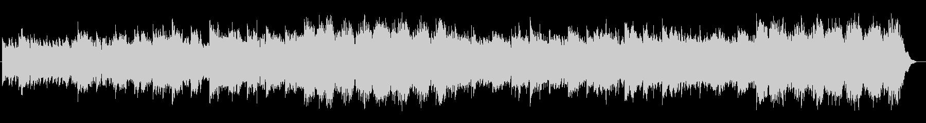 ギター系音色のスローなポップスの未再生の波形