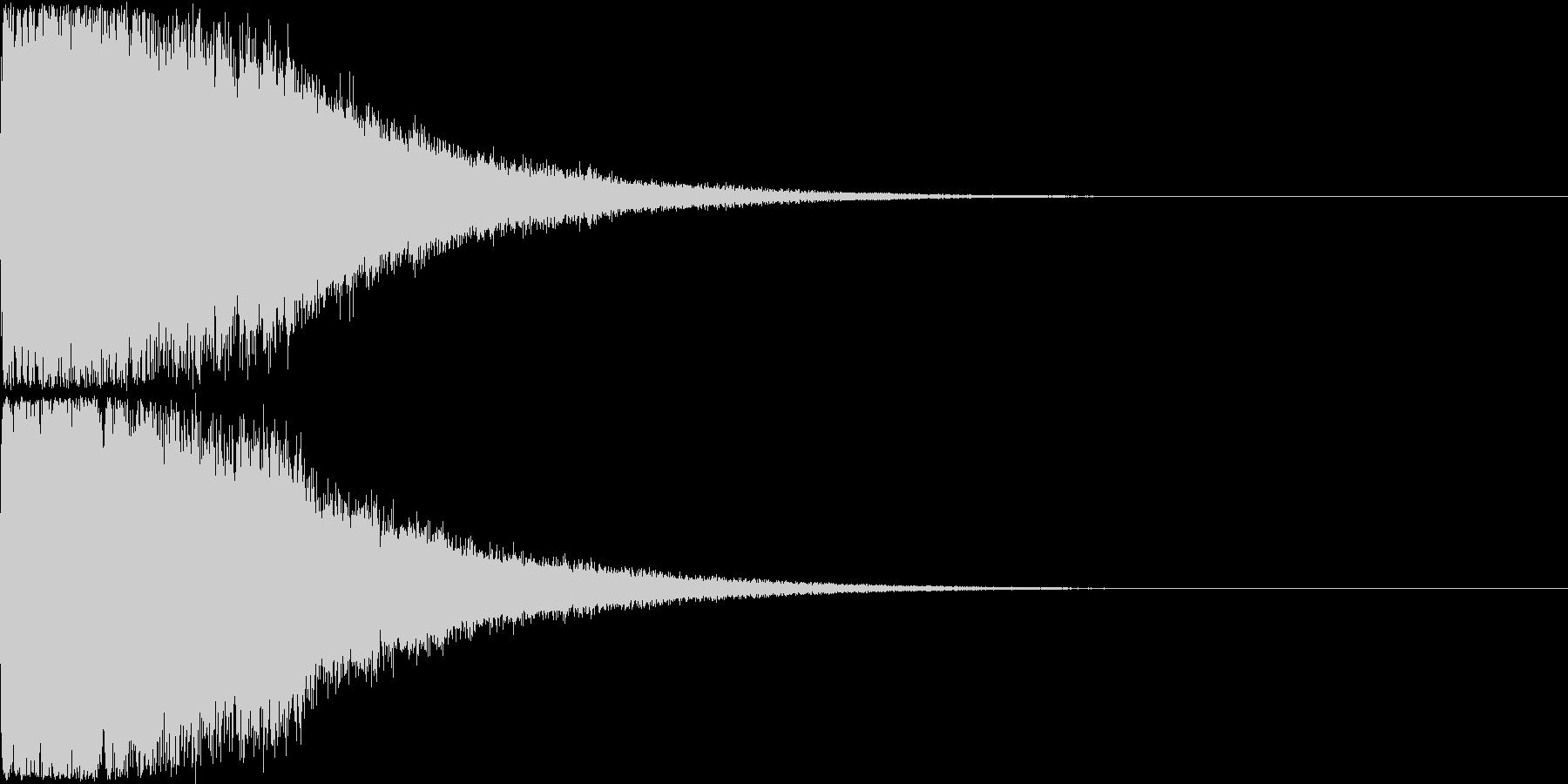 刀 剣 ソード カキーン キュイーン15の未再生の波形