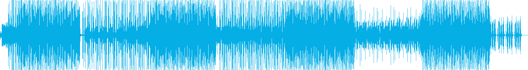 HIPHOPトラック ノリノリ系の再生済みの波形