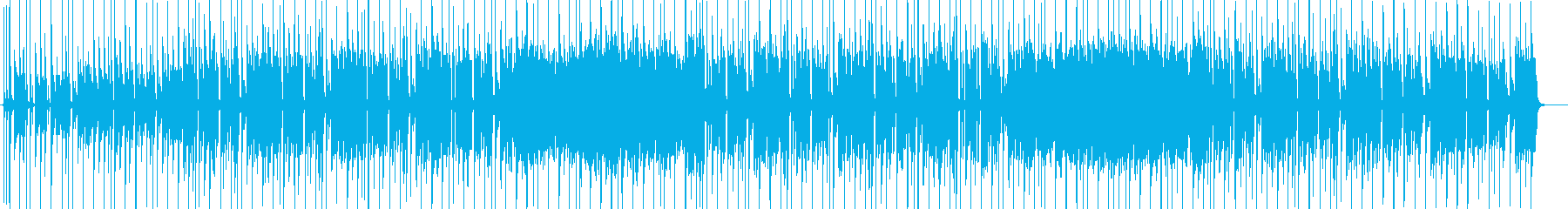 わくわく楽しいファンクポップの再生済みの波形
