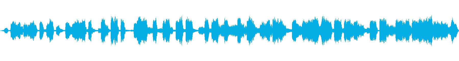 通信スクランブルバースト、SCI ...の再生済みの波形