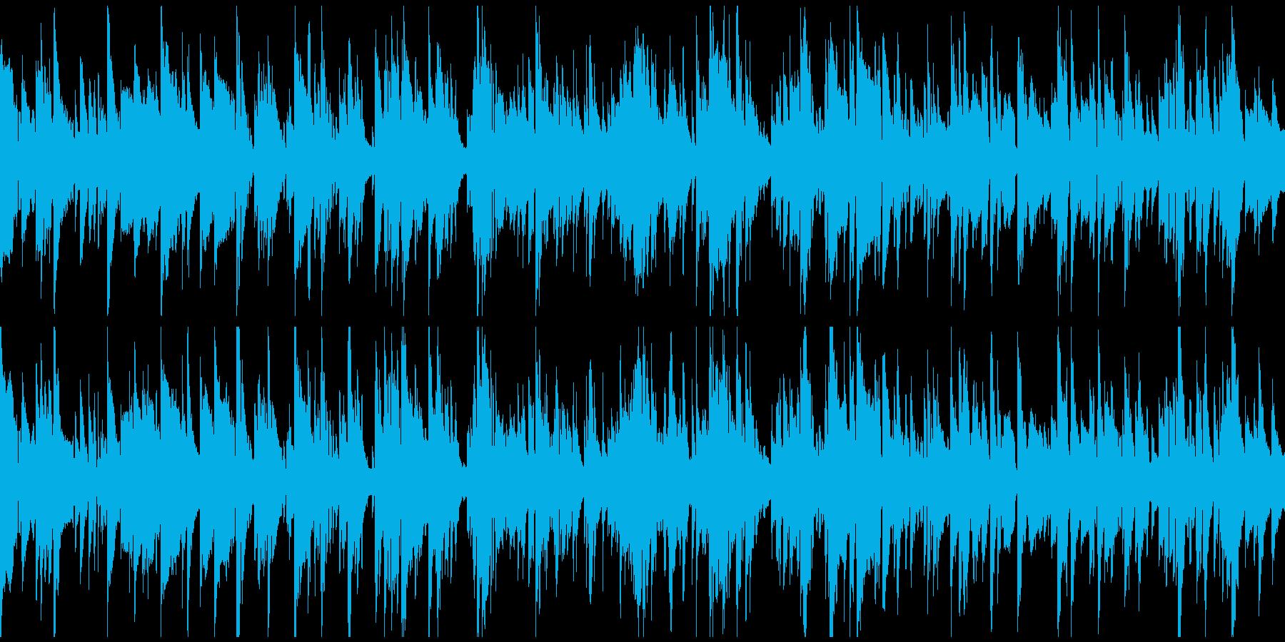 ムードある素敵なジャズバラード※ループ版の再生済みの波形