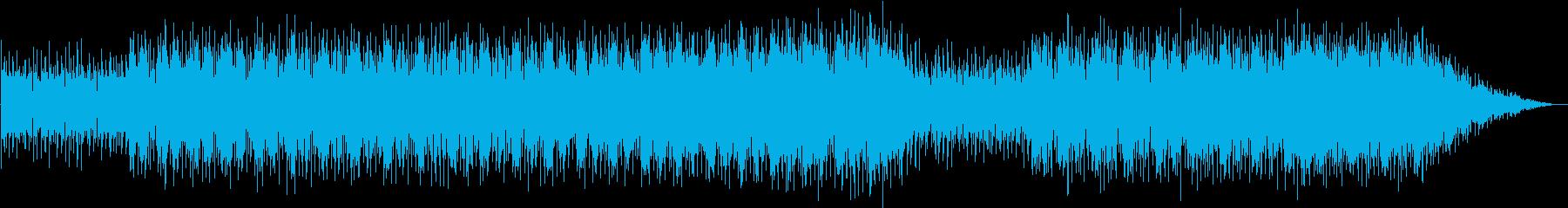 80sアジアンテイストシンセミュージックの再生済みの波形