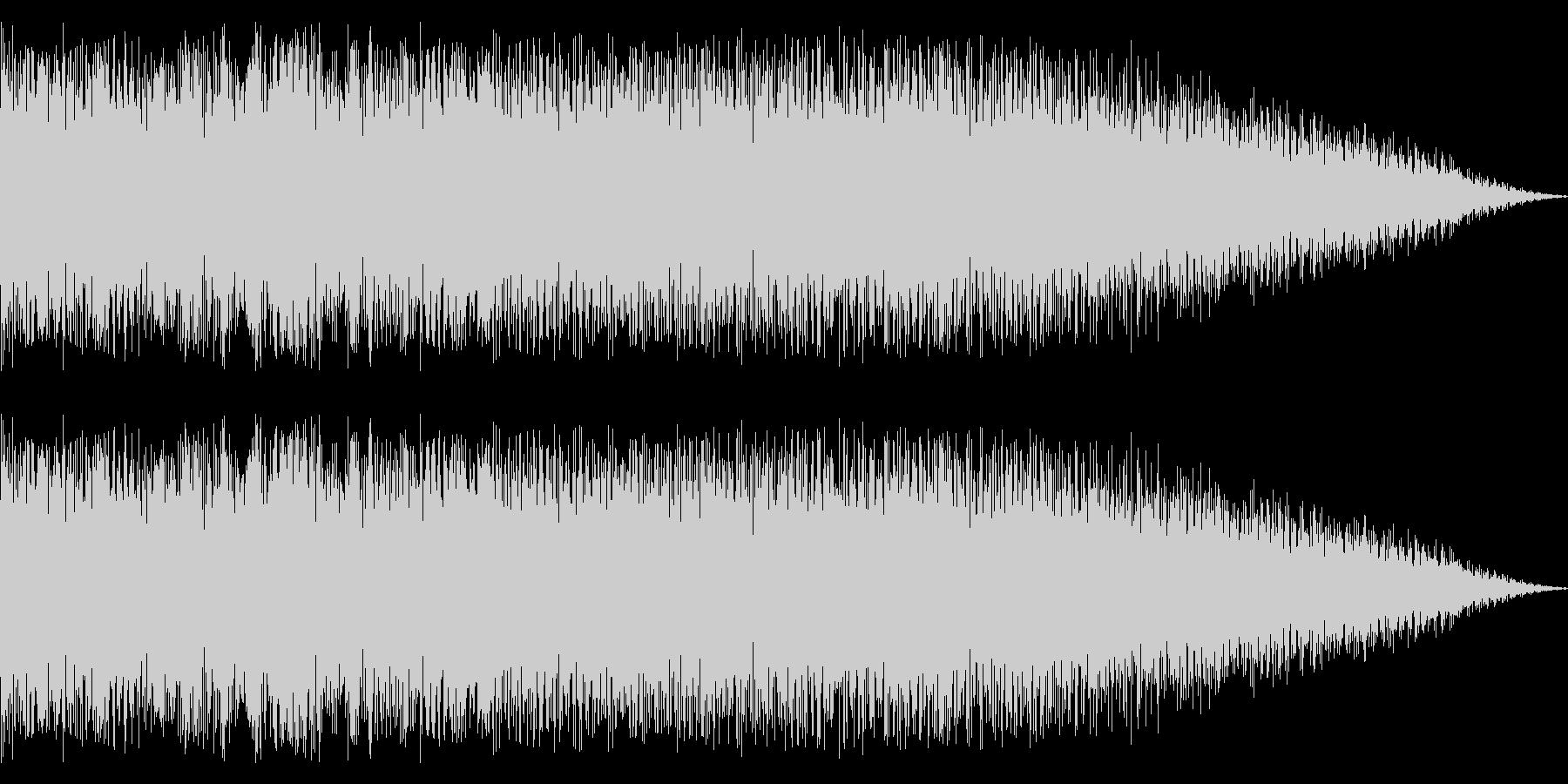 ディストーションのメタルなツインギターの未再生の波形