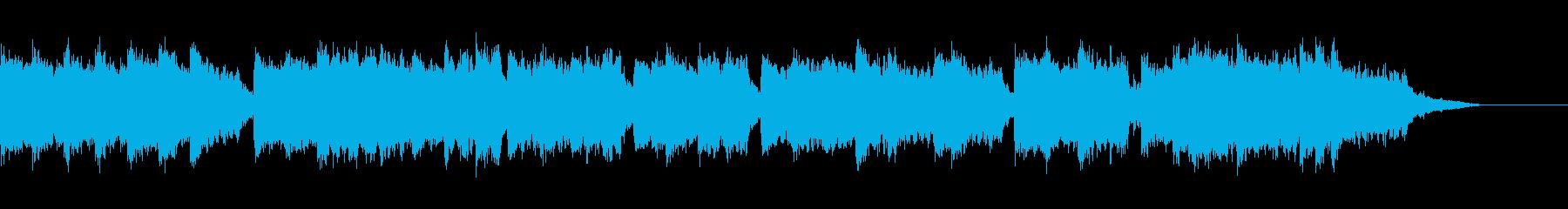 君が代(幻想的なピアノとコーラス)の再生済みの波形