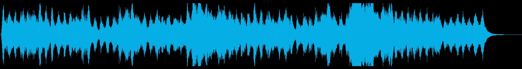 エルガー行進曲「威風堂々」有名サビ部分の再生済みの波形