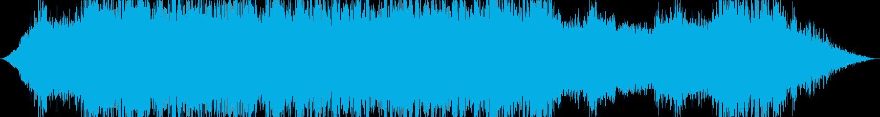 環境音+ノイズ カオス 映画 ゲームの再生済みの波形