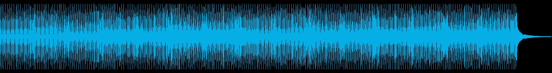 【メロディ抜き】明るく朗らかなコンセプトの再生済みの波形