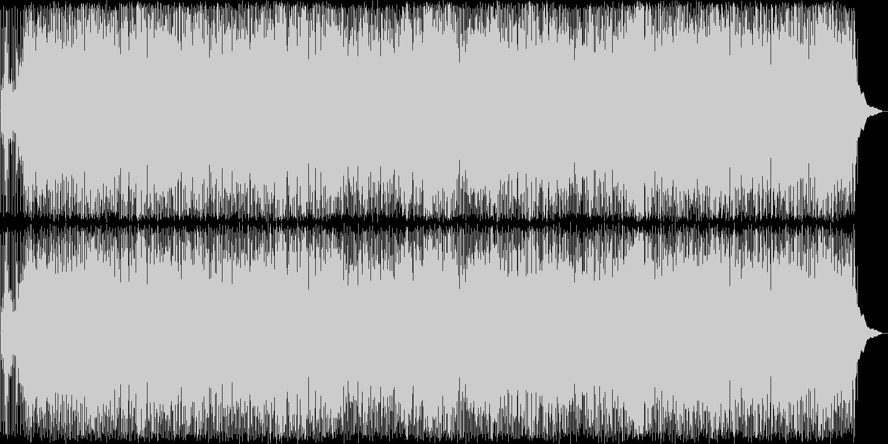楽しげなカントリーミュージックの未再生の波形