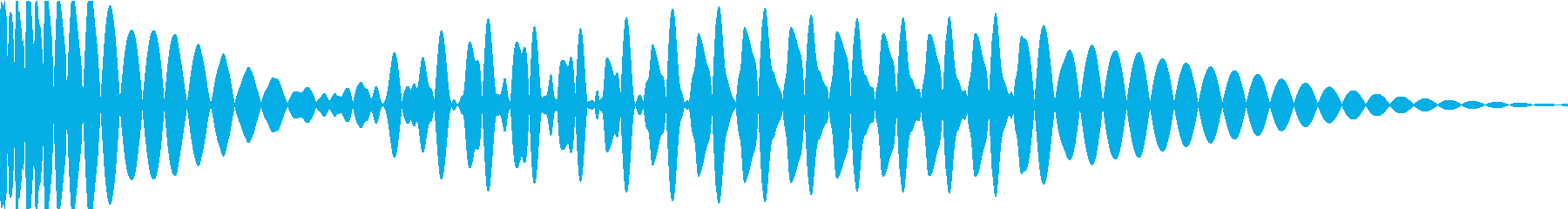 EDMキック キーG の再生済みの波形