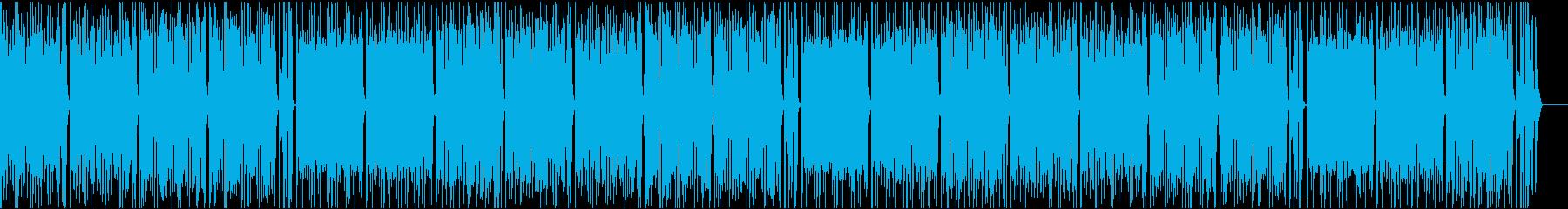 おしゃれイケイケ/カラオケの再生済みの波形