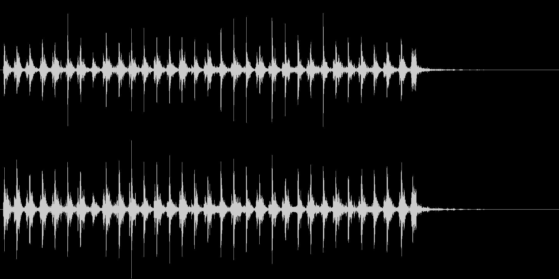 Xmasに最適トナカイベルのループ音03の未再生の波形