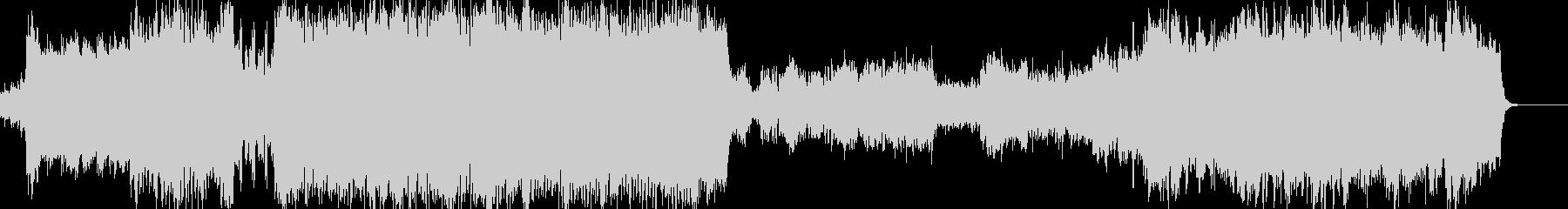 感動的なフルオーケストラの未再生の波形