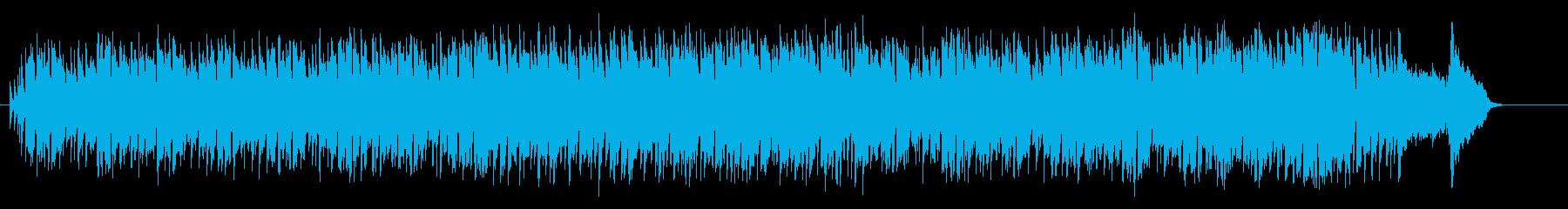 城下町の懐かしいミディアム・ポップスの再生済みの波形