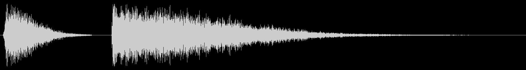 ハイハットシンバル音の未再生の波形