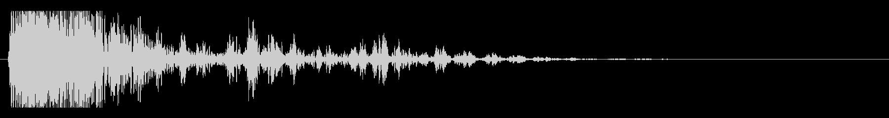 爆発・衝撃波・ソニックブーム11の未再生の波形