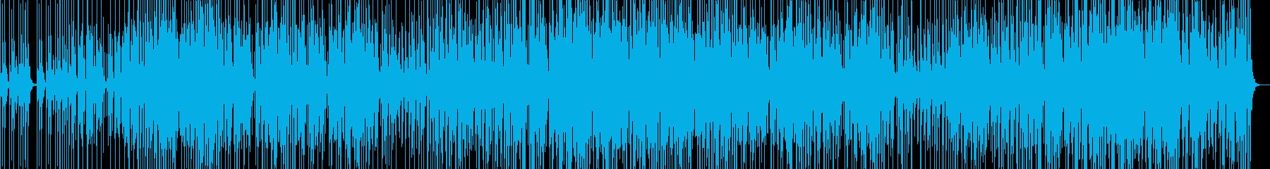 声と笛が絡み合う不思議なBGMの再生済みの波形