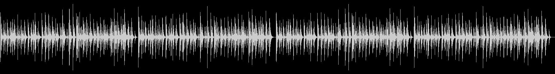 ピクニック 木琴アンサンブルの未再生の波形