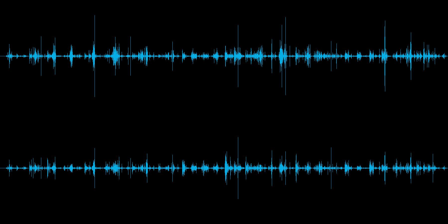 フットステプス、グレイヴル、スロー...の再生済みの波形